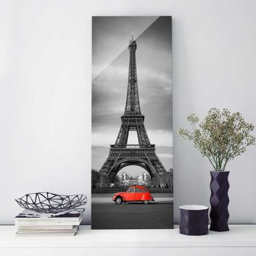 Quadro in vetro - Spot on Paris - Pannello