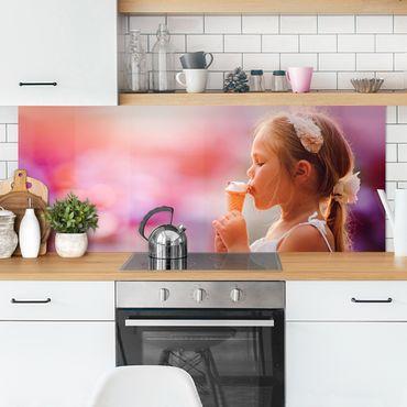 Rivestimento cucina personalizzata con foto