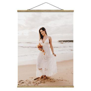 Foto su tessuto da parete con bastone personalizzato - Verticale 3:4