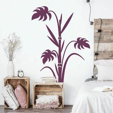 Adesivo murale no.359 bamboo fern