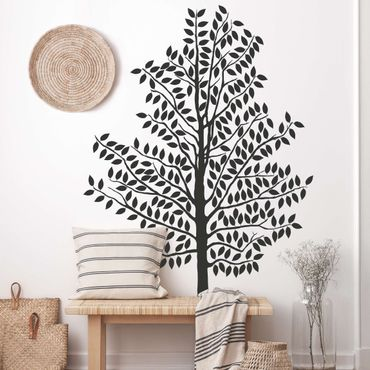 Adesivo murale no.AC84 Tree With Leaves