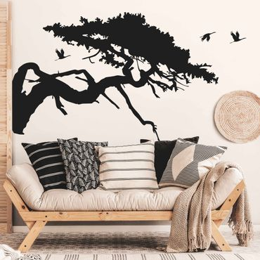 Adesivo murale No.CG143 Asian Tree