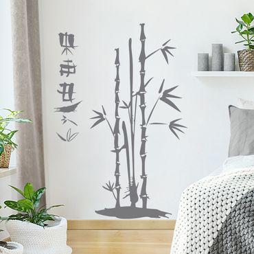 Adesivo murale no.SF681 Bamboo