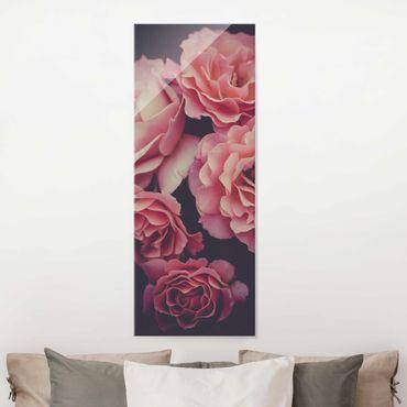 Quadro in vetro - Sogno di rose