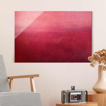Quadro in vetro - Deserto rosso