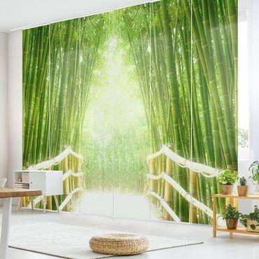 Tende scorrevoli set - Bamboo Way