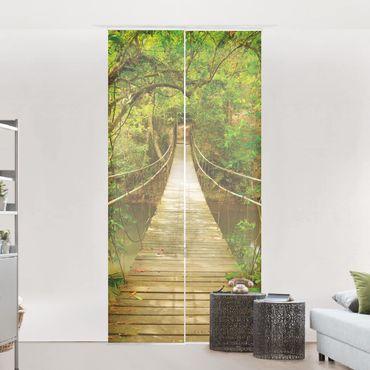 Tende scorrevoli set - Jungle Bridge