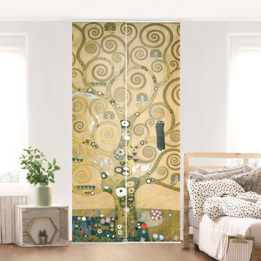 Tende scorrevoli set - Gustav Klimt - The Tree Of Life