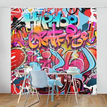 Tende scorrevoli set - Hip Hop Graffiti