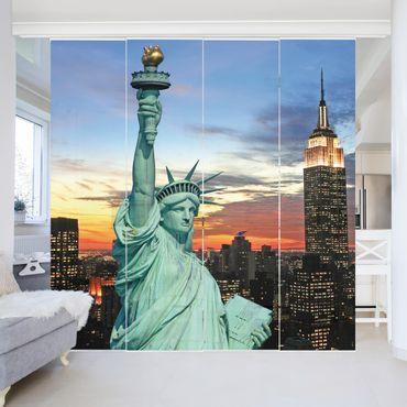Tende scorrevoli set - New York At Night