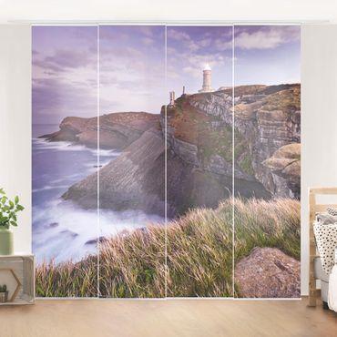 Tende scorrevoli set - Cliffs And Lighthouse