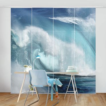 Tende scorrevoli set - Hurricane Waves