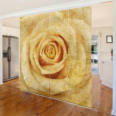 Tende scorrevoli set - Vintage Rose