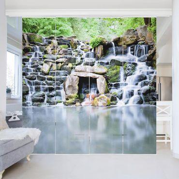 Tende scorrevoli set - Waterfall