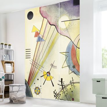Tende scorrevoli set - Wassily Kandinsky - Distinct Connection