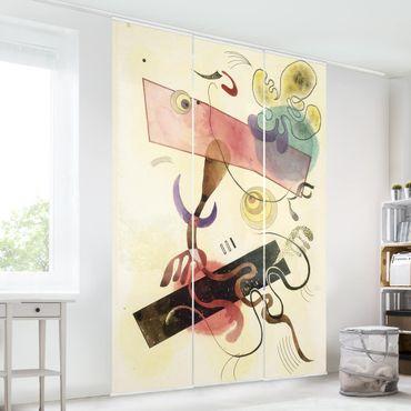 Tende scorrevoli set - Wassily Kandinsky - Taches Grises (Gray Spots)