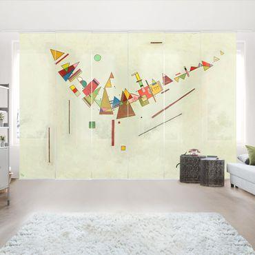 Tende scorrevoli set - Wassily Kandinsky - Angular Swing