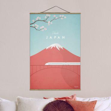 Foto su tessuto da parete con bastone - Poster Viaggio - Giappone - Verticale 3:2