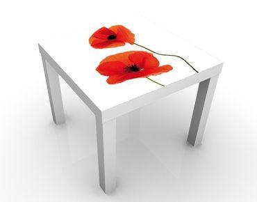 Tavolino design Charming Poppies