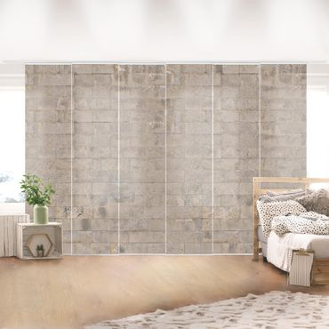 Tende scorrevoli set - Brick Wallpaper Concrete