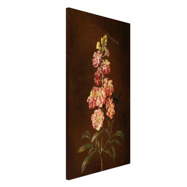 Lavagna magnetica - Barbara Regina Dietzsch - Un Pink Garden Levkkoje - Formato verticale 4:3