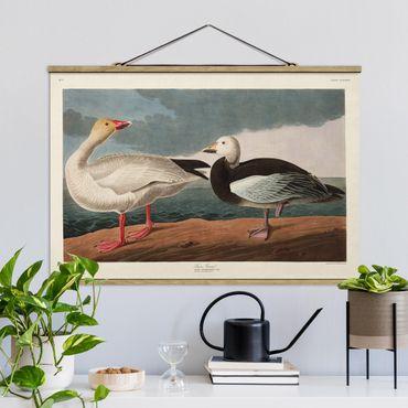 Foto su tessuto da parete con bastone - Vintage Consiglio Blue Goose - Orizzontale 2:3