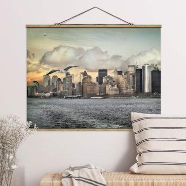 Foto su tessuto da parete con bastone - No.Yk1 New York - Orizzontale 3:4