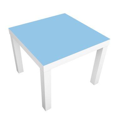 Carta adesiva per mobili IKEA - Lack Tavolino Colour Light Blue