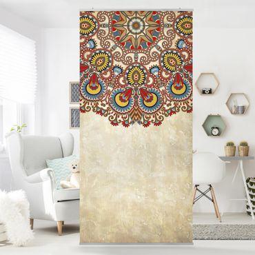Tenda a pannello Coloured Mandala 250x120cm