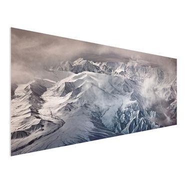 Quadro in forex - Montagne del Tibet - Panoramico
