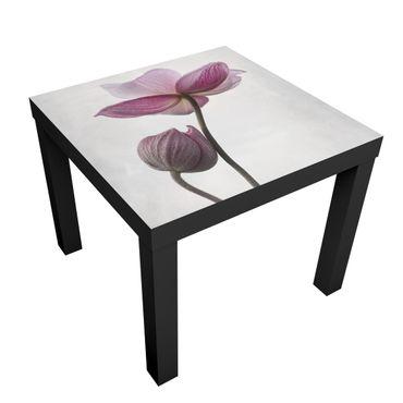 Tavolino design Anemones In Pink