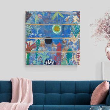 Stampa su legno - Paul Klee - Sunken Paesaggio - Quadrato 1:1