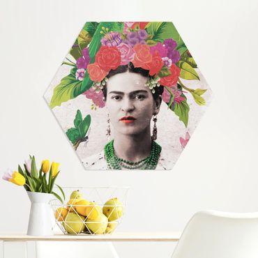 Esagono in forex - Frida Kahlo - Fiore Ritratto
