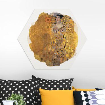 Esagono in forex - Acquerelli - Gustav Klimt - Ritratto di Adele Bloch-Bauer I