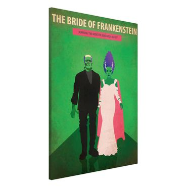 Lavagna magnetica - Poster del film La moglie di Frankenstein - Formato verticale 2:3