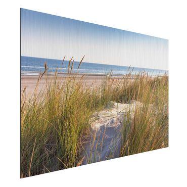 Stampa su alluminio spazzolato - Beach Dune Al Mare - Orizzontale 2:3
