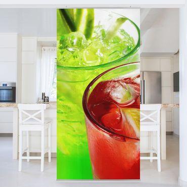 Tenda a pannello Fresh Cocktails 250x120cm