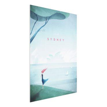 Stampa su Forex - Poster Viaggi - Sidney - Verticale 4:3