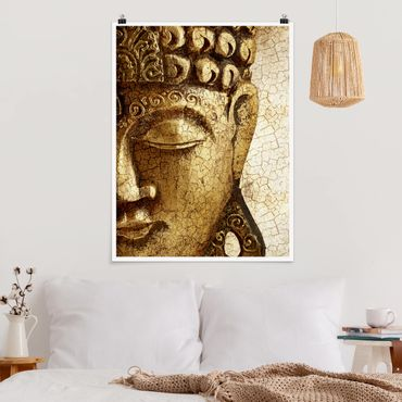 Poster - Vintage Buddha - Verticale 4:3