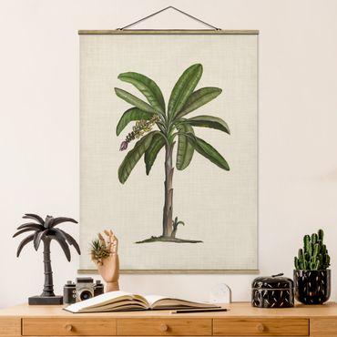 Foto su tessuto da parete con bastone - Britannico Palms II - Verticale 4:3
