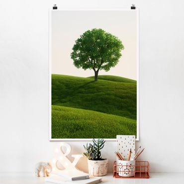 Poster - green Peace - Verticale 3:2