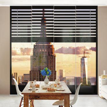 Tende scorrevoli set - Window View Blind - Empire State Building New York