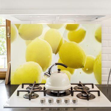 Paraschizzi in vetro - Lemon In The Water
