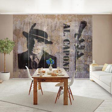 Tende scorrevoli set - Al Capone