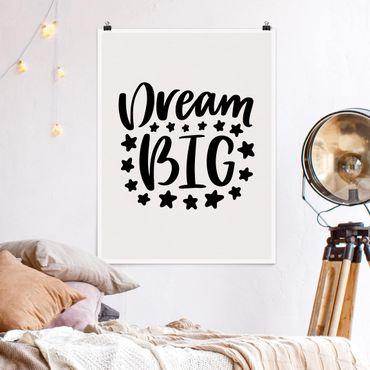 Poster - sogno Big - Verticale 4:3