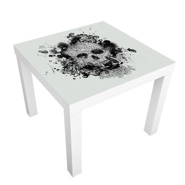 Carta adesiva per mobili IKEA - Lack Tavolino Skull