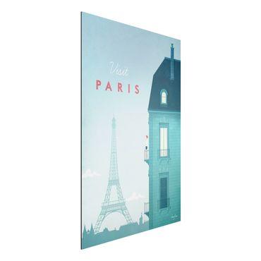 Stampa su alluminio - Poster Viaggio - Parigi - Verticale 3:2