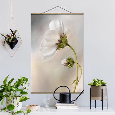 Foto su tessuto da parete con bastone - Blossoms - Verticale 3:2