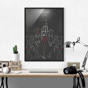 Poster con cornice - Film Poster Chicago - Verticale 4:3