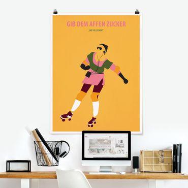 Poster - Poster di film Dare Le Scimmie Zucchero - Verticale 4:3